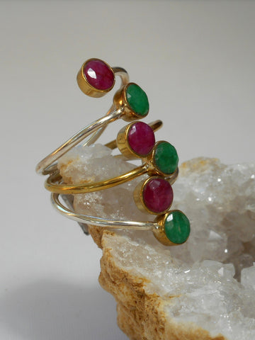 Ruby and Emerald Ring 3