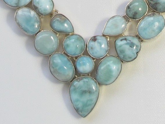 Larimar Necklace 2