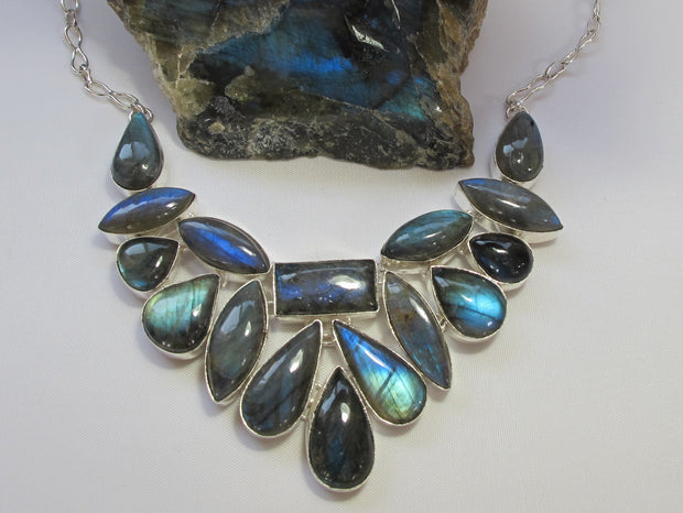 Labradorite Necklace 5