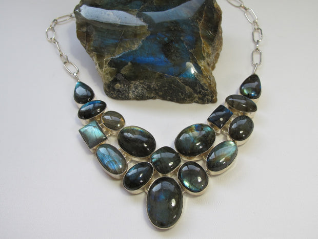*Labradorite Necklace 3