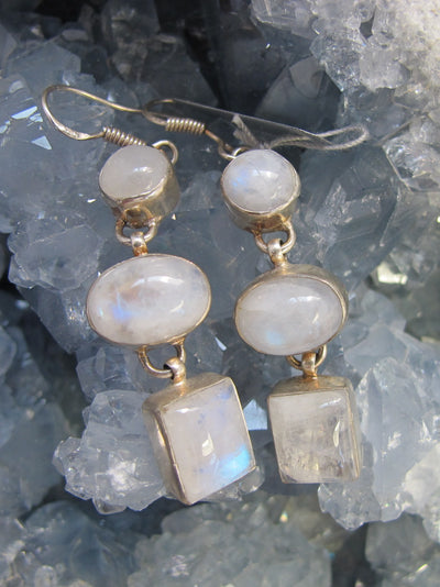 Moonstone Earring Set 9
