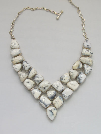 *Dendritic Opal Necklace 1