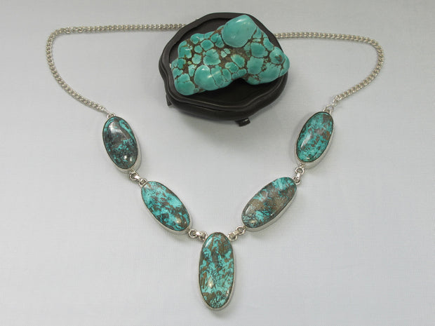 Chrysicolla Necklace 2.1