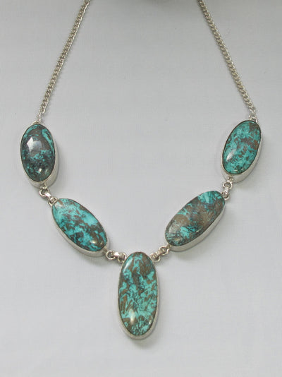 Chrysocolla Necklace 2.1