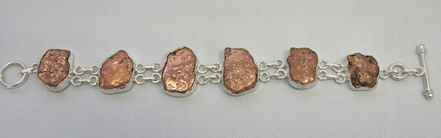 Copper Nugget Bracelet 2