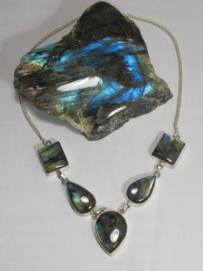 Labradorite Necklace 1