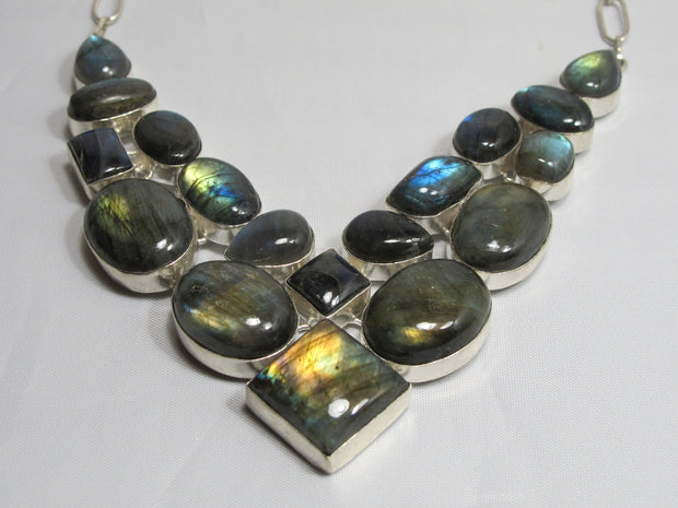 Labradorite Necklace 4