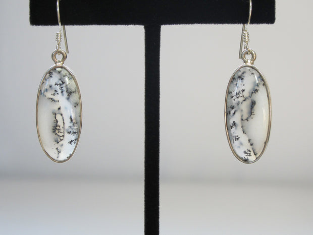 Dendritic Opal Earring Set 1