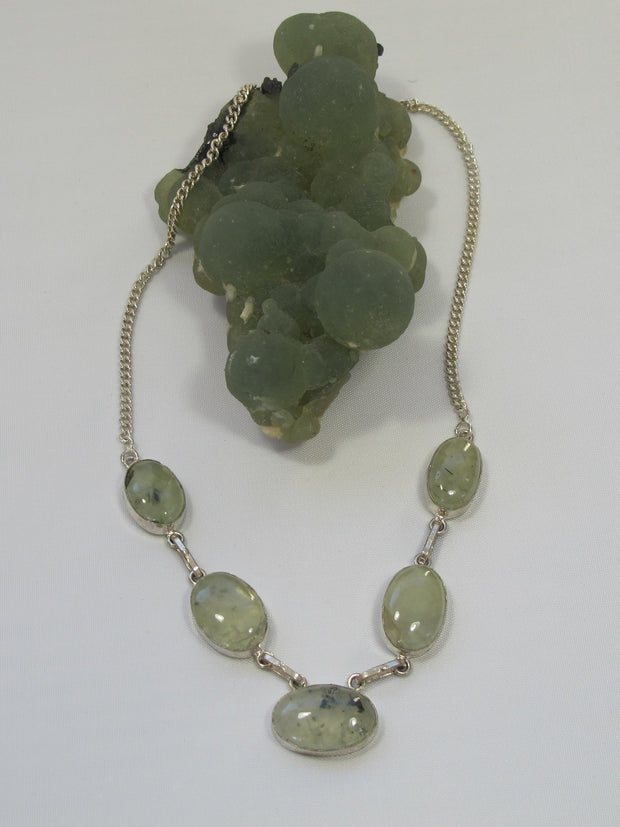 Prehnite Necklace 3