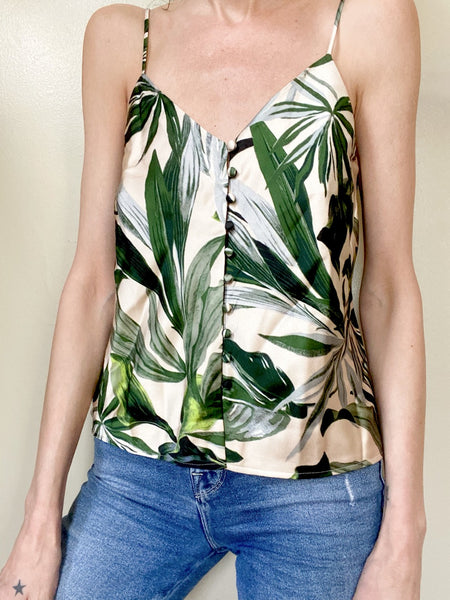 Silk Palm Cami Small
