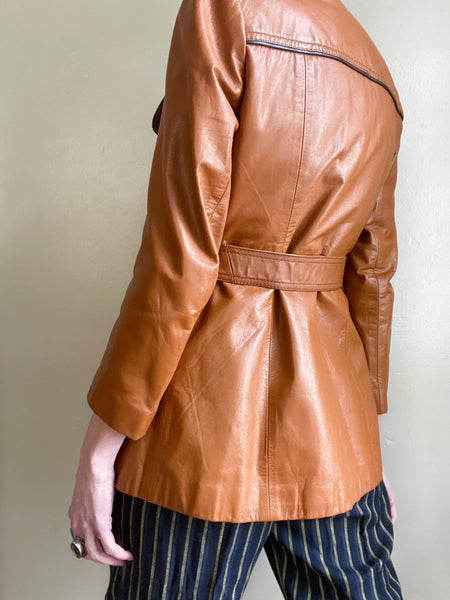 Private Collection: Vegan Leather and Faux Shearling Jacket.