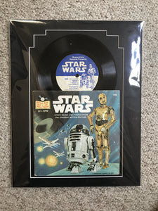 Star Wars original record and book, 1979