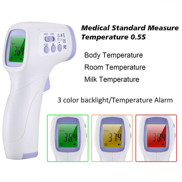 Non Contact Electronic Laser Temperature Infrared Thermometer for Body Adults