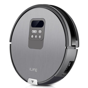 ILIFE X750 Robot Vacuum Cleaner for Hard Floor Pet Hair Wet and Dry Mopping Wetting, Intelligent Planning Path and Time, Robot Aspirador