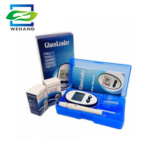 Diabetic Blood Sugar Detection Blood Glucose Meter Glucometer +50pcs strips & 50pcs Needles