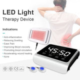 LED therapy equipment fisioterapia reahabilitacion RED AND BLUE LED LIGHT fisioterapia