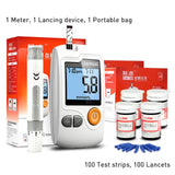 Sannuo Yizhun GA-3 Blood Glucose Meter & Test Strips & Lancets Needles Glucometer Blood Sugar Detection Monitor for Diabetic