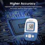 Sinocare Safe AQ Angel Blood Glucose Meter Glucometer and Test Strips Needles Sugar Monitor Diabetes Tester Home Medical Device