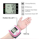 Automatic Digital Voice Wrist Blood Pressure Monitor.
