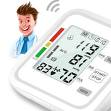 Home Use. Health Care. Lcd automatic BP Upper Arm Blood Pressure Monitor meter Machine cuff Heart Beat smart band sphygmomanometer