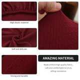 Single Seat Couch Slipcover Knitted Waterproof Chair Cover Skin Care Armchair Sofa Cover Washable Furniture Protector