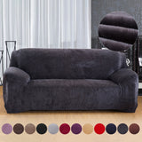 Thick Plush Stretch all-inclusive Cover Fabric. Non-slip Sofa Cover Warm And Thick
