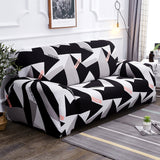 Geometric Stretch Sofa Cover All-inclusive Slipcover Sofa for Living Room Bohemia Spandex Couch Covers Sectional Sofa Cover