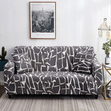 Living Room Modern Sofa Cover Elastic Sofa Slipcovers Sectional Corner L-shape Chair Protector Couch Cover 1/2/3/4 Seater