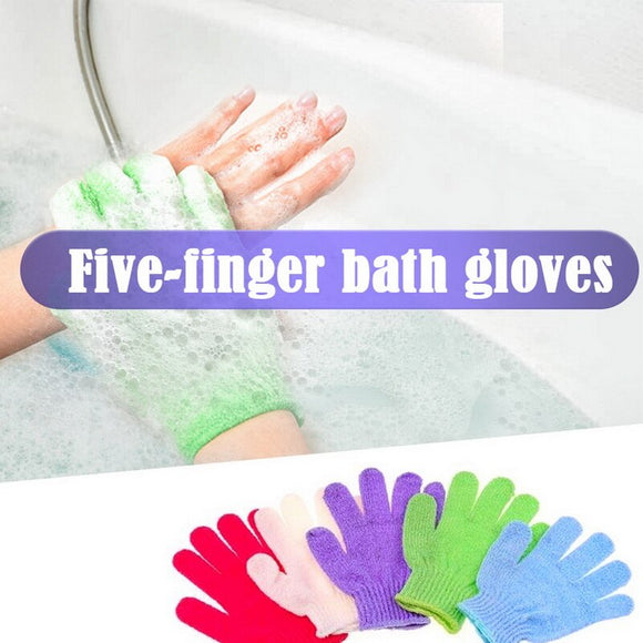 1Pcs Exfoliating Gloves  Bath Gloves for Shower SPA Massage Body