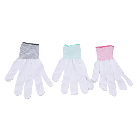 1 Pair Nylon Quilted Gloves. Quilting Sewing Gloves. Useful Cleaning Tools