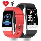 Smartwatch with Temperature Measure ECG Heart Rate Blood Pressure Monitor Weather Forecast Music Control Smart Watch Men Women