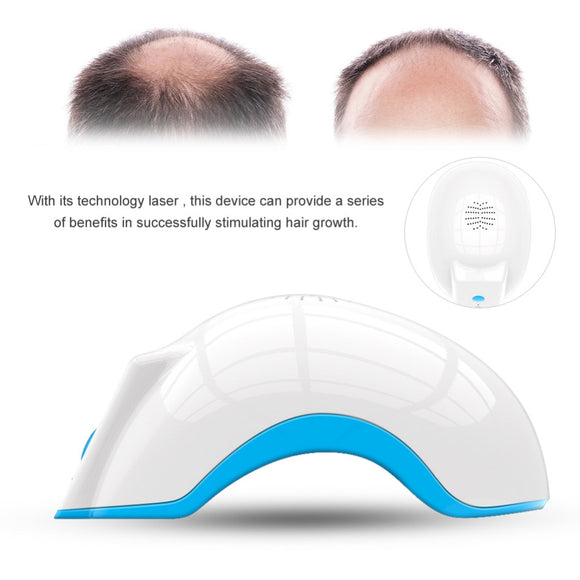 Hair regrow laser helmet. 80d medical diodes. Treatment fast growth cap hair loss solution hair regrowth machine