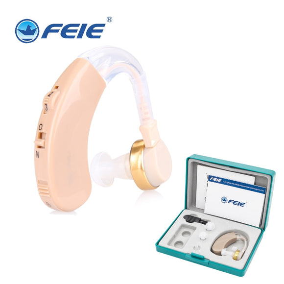 S-139 Mini Hearing Aids Volume Adjustable  Ear Listening Device Wireless Sound Amplifier For the Hearing Loss Elderly