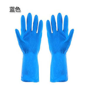 Eco Friendly Multifunction Household cleaning appliance Department winter long sleeve rubber gloves 31CM household cleaning Gloves