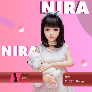 Copy of 100cm 3ft28 D-cup Mini Sex Doll  Nira