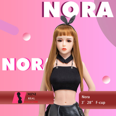 100cm 3ft28 D-cup Mini Sex Doll  Nora
