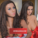 Attractive Wave Of Liberal Girl Dreamy Silicone Doll For Male Love Toy