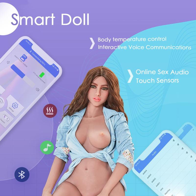 158cm 5ft2 F-cup Smart Sex Dolls Wendy - mnsexdolls