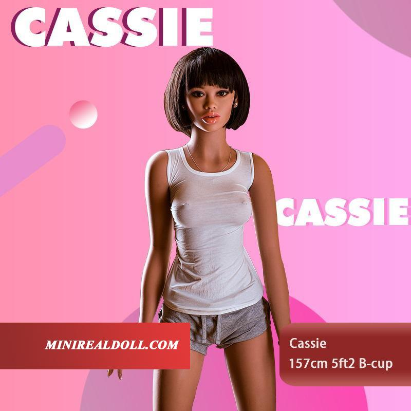 157cm 5ft2 B-cup Sex Doll Cassie