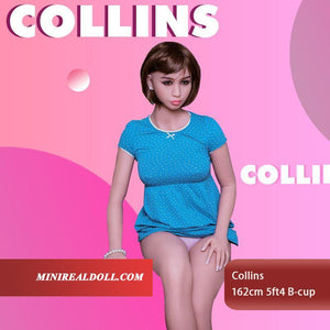 162cm 5ft4 B-cup Sex Doll Collins