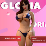 "152cm(5'00"") G-cup Sex Doll Gloria"