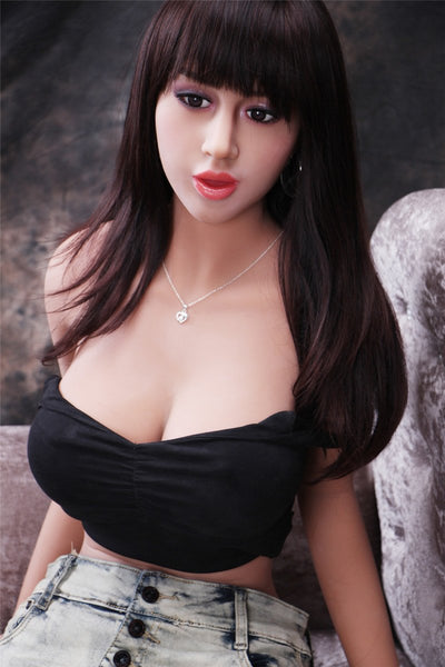 Huge Chesty Curvy Figure Girl Janice Silicone Doll For Male Toy