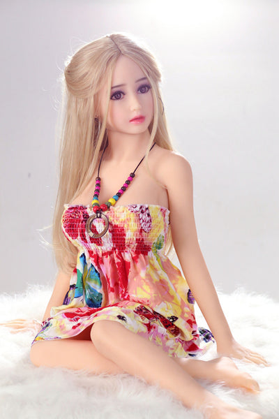"125cm(4'1"") D-cup Small Sex Doll Pearl"