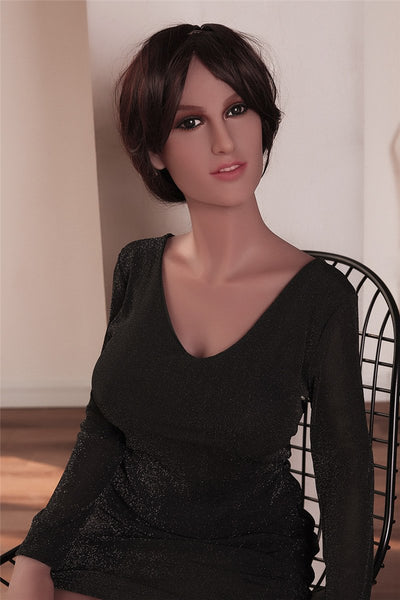 Lively Stunning Girl Elvira Silicon Doll For Male Love
