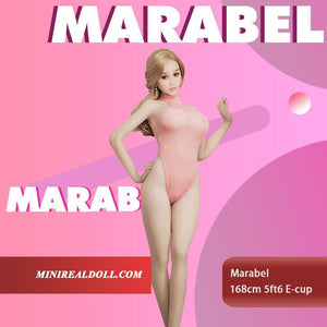 168cm 5ft6 E-cup Sex Doll Marabel