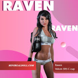 166cm 5ft5 C-cup Sex Doll Raven