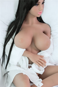 140cm Big Breast Girl Sex Love Doll Tan - mnsexdolls