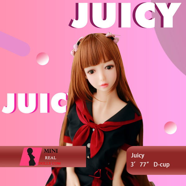 "115cm(3'77"") D-cup Wonderful Girl Juicy"