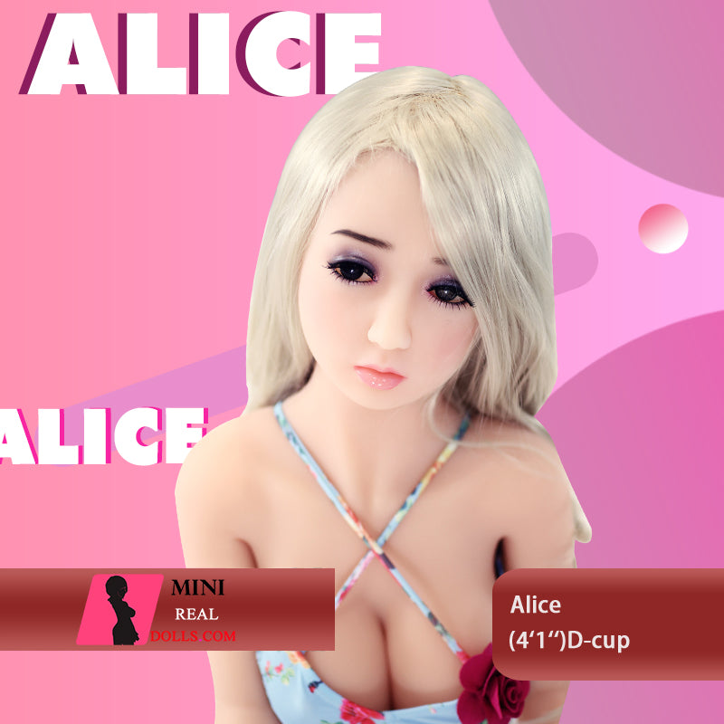 "125cm(4'1"") D-cup Innocent Girl Sex Doll  Alice"
