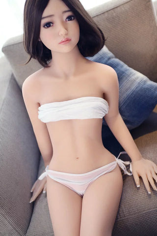 135cm 4ft42 Small Breast Mini Doll FOR Men Lily